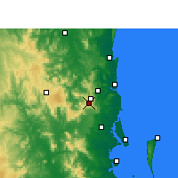 Nearby Forecast Locations - Maleny - карта