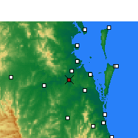 Nearby Forecast Locations - Archerfield - карта