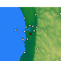 Nearby Forecast Locations - Jandakot - карта