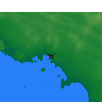 Nearby Forecast Locations - Ceduna - карта