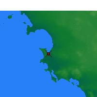 Nearby Forecast Locations - Streaky Bay - карта