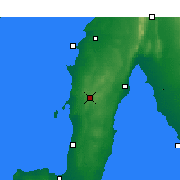 Nearby Forecast Locations - Maitland - карта