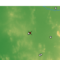 Nearby Forecast Locations - Wyalong - карта