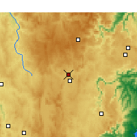 Nearby Forecast Locations - Гоулберн - карта