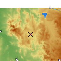 Nearby Forecast Locations - Barraba - карта