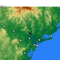 Nearby Forecast Locations - Paterson - карта