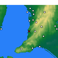 Nearby Forecast Locations - Noarlunga - карта