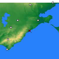 Nearby Forecast Locations - Aireys Inlet - карта