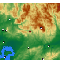Nearby Forecast Locations - Noojee - карта