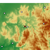 Nearby Forecast Locations - Eildon - карта