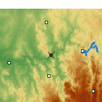Nearby Forecast Locations - Gundagai - карта