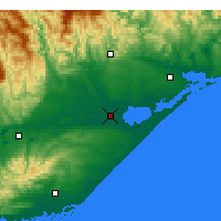 Nearby Forecast Locations - East Sale - карта