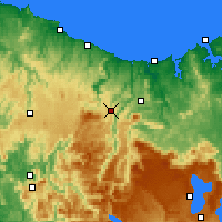 Nearby Forecast Locations - Erriba - карта
