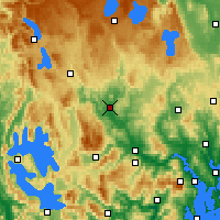 Nearby Forecast Locations - Ouse - карта