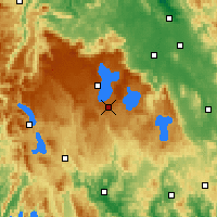 Nearby Forecast Locations - Barren Tier - карта