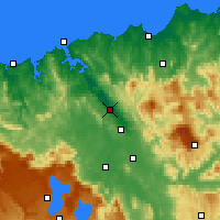 Nearby Forecast Locations - Лонсестон - карта