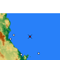 Nearby Forecast Locations - Norman Reef - карта