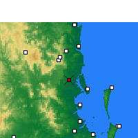Nearby Forecast Locations - Beerburrum - карта