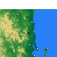 Nearby Forecast Locations - Намбор - карта