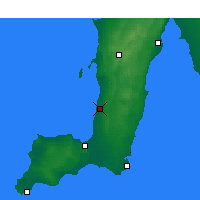 Nearby Forecast Locations - Roxby Downs - карта