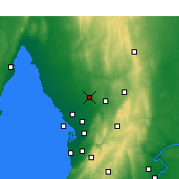 Nearby Forecast Locations - Roseworthy - карта