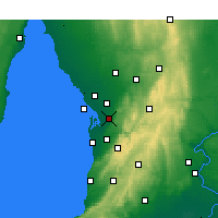 Nearby Forecast Locations - Parafield - карта