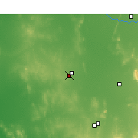 Nearby Forecast Locations - West Wyalong - карта