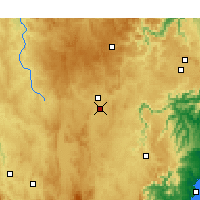 Nearby Forecast Locations - Гоулберн аэропорт - карта