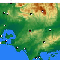 Nearby Forecast Locations - Ellinbank - карта