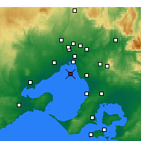 Nearby Forecast Locations - Fawkner Beacon - карта