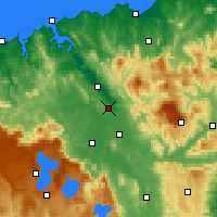 Nearby Forecast Locations - Лонсестон (аэропорт) - карта