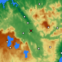 Nearby Forecast Locations - Powranna - карта