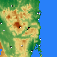 Nearby Forecast Locations - Fingal - карта