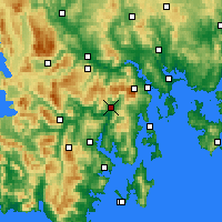 Nearby Forecast Locations - Grove - карта