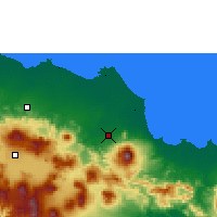 Nearby Forecast Locations - Jatiwangi - карта