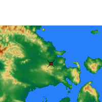 Nearby Forecast Locations - Kendari/wolter - карта