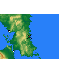 Nearby Forecast Locations - Borongan - карта