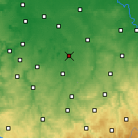 Nearby Forecast Locations - Борна - карта