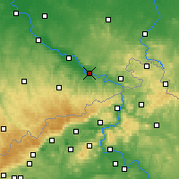 Nearby Forecast Locations - Пирна - карта