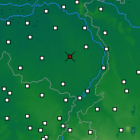 Nearby Forecast Locations - Deurne - карта
