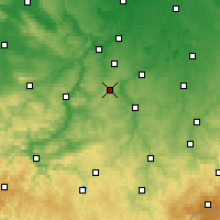 Nearby Forecast Locations - Айзенберг - карта