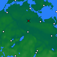 Nearby Forecast Locations - Гриммен - карта
