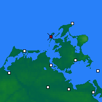 Nearby Forecast Locations - Хиддензе - карта