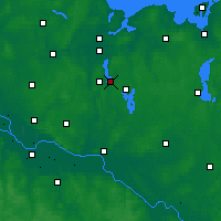 Nearby Forecast Locations - Ратцебург - карта