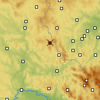 Nearby Forecast Locations - Шёнзее - карта