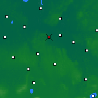 Nearby Forecast Locations - Дельменхорст - карта