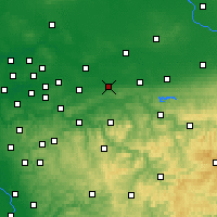 Nearby Forecast Locations - Унна - карта