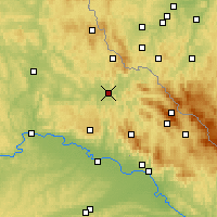 Nearby Forecast Locations - Кам - карта