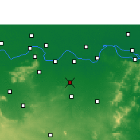 Nearby Forecast Locations - Amarpur - карта