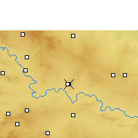 Nearby Forecast Locations - Athani - карта